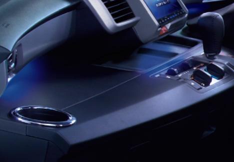 HONDA ホンダ FREED フリード ホンダ純正 インパネイルミネーション LEDブルー照明(スモールライト連動/左右セット+センター部2個) 【 2014.4~次モデル】