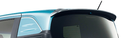 HONDA ホンダ FREED Spike フリード スパイク ホンダ純正 テールゲートスポイラー 2013.04~次モデル | テールゲート リア スポイラー ウイング リアウイング ウイングスポイラー 取り付け エアロパーツ 車 外装