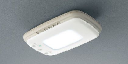 HONDA ホンダ INSPIRE インスパイア ホンダ純正 プラズマクラスター搭載LEDルーフ照明 (LEDドームランプ付天吊りタイプ) 2010.08~次モデル