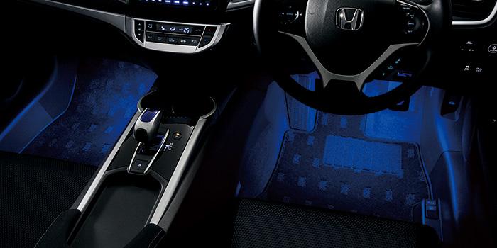 HONDA ホンダ JADE ジェイド ホンダ純正 フットライト 2015.2~次モデル | ライト 車 内装 室内 イルミネーション イルミ 後付け 照明 アクセサリー ポイント消化