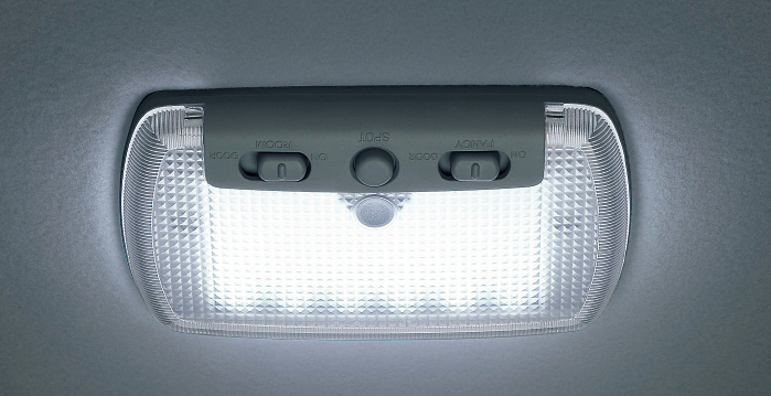 HONDA ホンダ JADE ジェイド ホンダ純正 LEDルーフ照明(交換タイプ1個入/スポットライト、ブルーイルミネーション、室内照明) 2015.2~次モデル