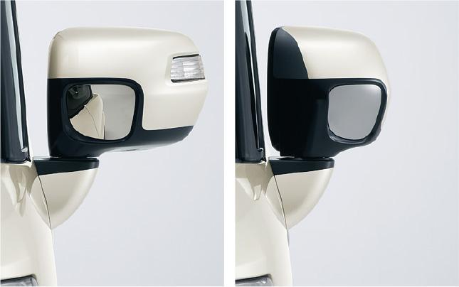 HONDA ホンダ 純正 NBOX N-BOX エヌボックス オートリトラミラー(ドアロック連動タイプ) 2013.12~次モデル