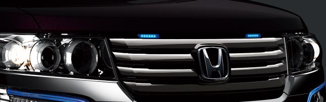 HONDA ホンダ 純正 NBOX N-BOX エヌボックス グリルイルミネーション(LEDブルー照明/スモールライト連動) 2014.10~次モデル
