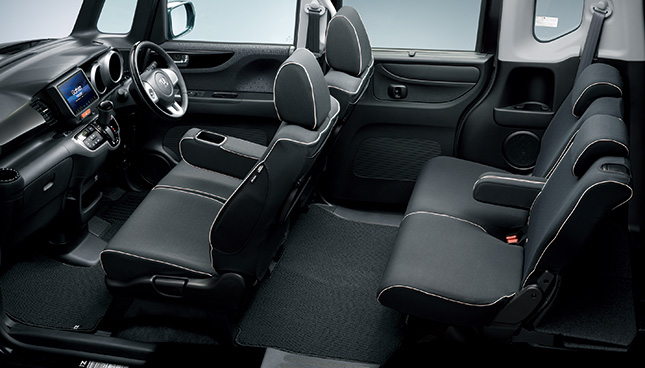 HONDA ホンダ 純正 NBOX N-BOX エヌボックス シートカバー フルタイプ ファブリック(フロント・リアセット) スライドリアシート装備無し車用 2015.8~次モデル