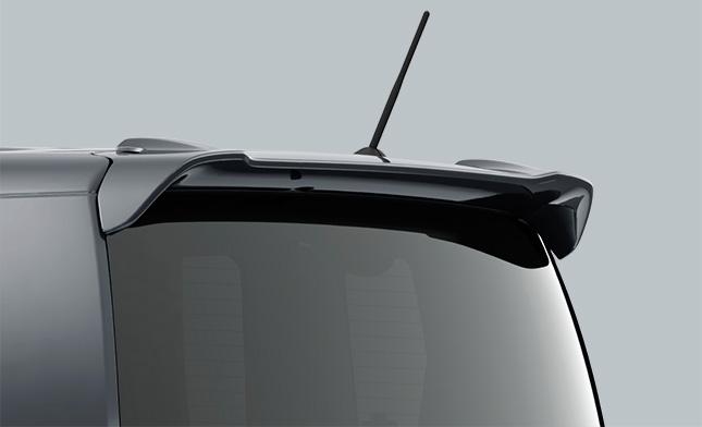 HONDA ホンダ 純正 NBOX N-BOX エヌボックス テールゲートスポイラー 2015.8~次モデル | テールゲート リア スポイラー ウイング リアウイング ウイングスポイラー 取り付け エアロパーツ 車 外装