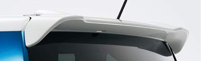 HONDA ホンダ 純正 NBOX+ N-BOX+ plus エヌボックスプラス テールゲートスポイラー 2012.12~2013.11 | テールゲート リア スポイラー ウイング リアウイング ウイングスポイラー 取り付け エアロパーツ 車 外装