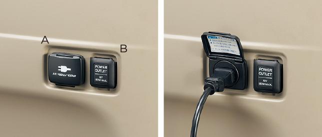 HONDA ホンダ 純正 NBOX+ N-BOX+ plus エヌボックスプラス ACコンセント (100V/100W) 2013.12~次モデル