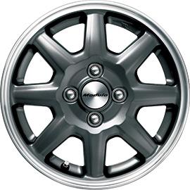 HONDA ホンダ 純正 NBOX+ N-BOX+ plus エヌボックスプラス 14インチ アルミホイール MS-024 ブラックパール塗装 1本 2013.12~次モデル | アルミ ホイール 交換 車 かっこいい 人気 おすすめ くるま おしゃれ サイズ