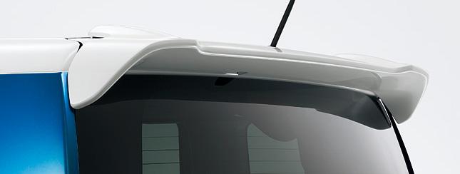 HONDA ホンダ 純正 NBOX+ N-BOX+ plus エヌボックスプラス テールゲートスポイラー 2014.4~次モデル | テールゲート リア スポイラー ウイング リアウイング ウイングスポイラー 取り付け エアロパーツ 車 外装