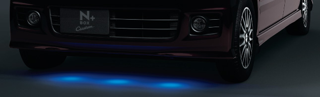 HONDA ホンダ 純正 NBOX+ N-BOX+ plus エヌボックスプラス グランドイルミネーション LEDブルー照明(スモールライト連動) 2014.10~次モデル