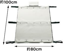 HONDA ホンダ 純正 NBOX+ N-BOX+ plus エヌボックスプラス インテリアソフトシェルフ(ユーティリティフック4個付/許容荷重 10kg) 2014.10~次モデル