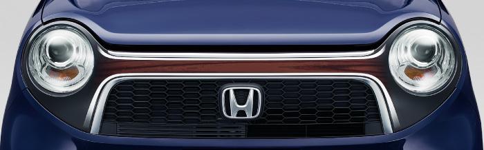 HONDA ホンダ NONE N-ONE エヌワン ホンダ純正 デカール フロントグリル ヴィンテージウッド2 2015.7~次モデル