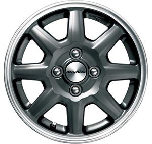 HONDA ホンダ NWGN N-WGN エヌワゴン ホンダ純正 14インチ アルミホイール MS-024 ブラックパール塗装 1本 2014.5~次モデル | アルミ ホイール 交換 車 かっこいい 人気 おすすめ くるま おしゃれ サイズ
