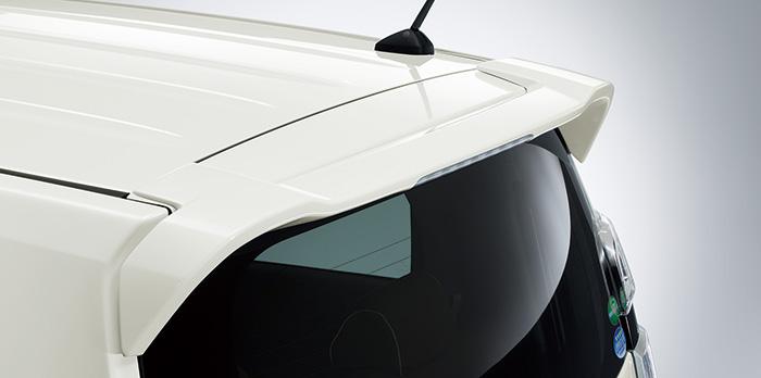 HONDA ホンダ NWGN N-WGN エヌワゴン ホンダ純正 テールゲートスポイラー 2014.10~次モデル | テールゲート リア スポイラー ウイング リアウイング ウイングスポイラー 取り付け エアロパーツ 車 外装