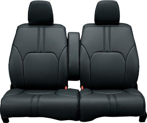 HONDA ホンダ NWGN N-WGN エヌワゴン ホンダ純正 シートカバー フルタイプ(合皮製/ブラック/フロント・リアセット) 2015.10~次モデル