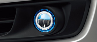 HONDA ホンダ ODYSSEY オデッセイ ホンダ純正 LEDフォグライト(本体+取付アタッチメント+スイッチキット) B/G/G・EX用 2013.10~次モデル