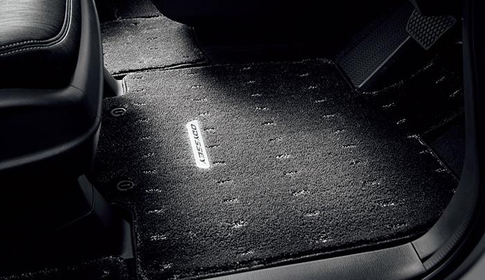 HONDA ホンダ ODYSSEY オデッセイ ホンダ純正 フロアカーペットマット プレミアムタイプ(ブラック) 2015.5~次モデル