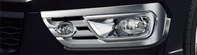 大空間 使える HONDA ファッション通販 ステップワゴン の純正アイテム勢揃い ホンダ 今ダケ送料無料 STEPWGN ホンダ純正 フォグライトガーニッシュ 2014.10~次モデル