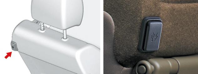 HONDA ホンダ STEPWGN ステップワゴン ホンダ純正 USBチャージャー(5V) 2列目用(1口/2.1A) 【 2015.10~次モデル】