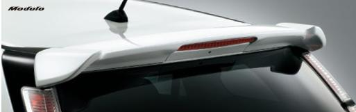 HONDA ホンダ STREAM ストリーム ホンダ純正 テールゲートスポイラー(ハイマウント・ストップランプ〈赤〉付) 2014.4~次モデル | テールゲート リア スポイラー ウイング リアウイング ウイングスポイラー 取り付け エアロパーツ 車 外装