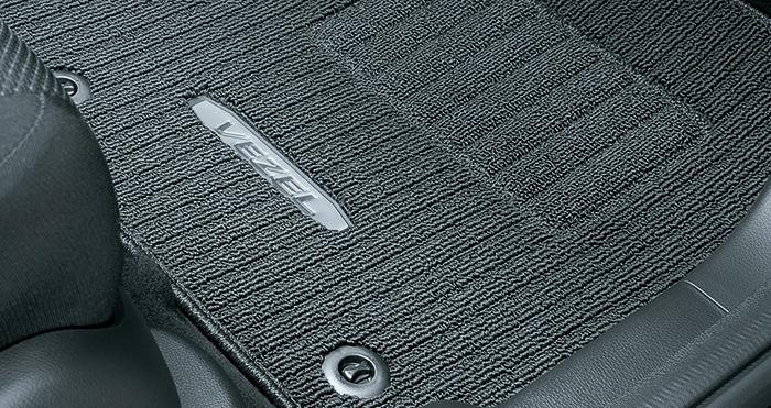 HONDA ホンダ VEZEL ヴェゼル ホンダ純正 フロアカーペットマット プレミアムタイプ 2015.4~仕様変更 | 08P15-T7A-010 RU1 RU2 RU3 RU4 ヴェゼルハイブリッド VEZELHYBRID フロアマット 車種別 カーマット 床 車 高品質 上質 交換 フロア カー マット 車種専用 車内