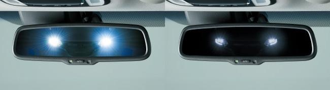 HONDA ホンダ VEZEL ヴェゼル ホンダ純正 オートデイナイトミラー(LED〈ブルー〉イルミネーション付) 【 2015.10~次モデル】