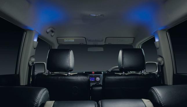 HONDA ホンダ ZEST ゼスト ホンダ純正 ピラーイルミネーション ブルー照明(LED照明)【 2011.02~次モデル】