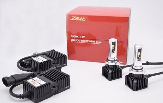安心の日本製 車検対応品 長期3年保証 ZRAY 全品送料無料 RF2 HB4 セール品 フォグライト専用LEDバルブキット 12V車専用 日本ライティング 6500k