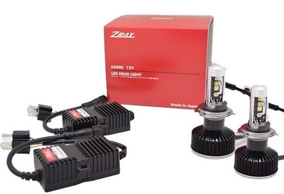 ZRAY RH1 ヘッドライト専用LEDバルブキット H4切替 6500k 12V車専用 日本ライティング