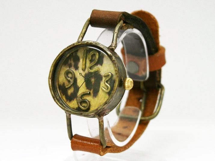 送料無料 kiki TORAJI手作り腕時計