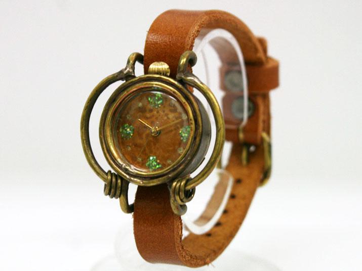 kiki SATEN手作り腕時計