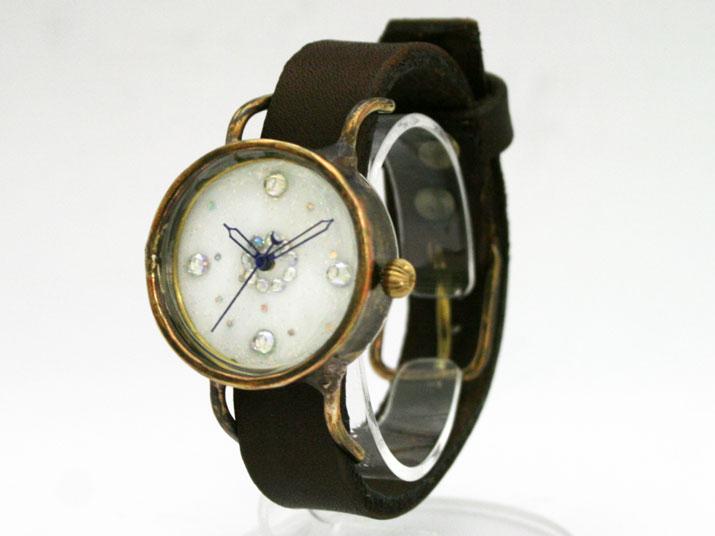 送料無料 kiki Shanty手作り腕時計