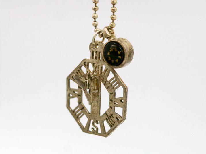Ks 水平式日時計 KP-40S手作りネックレス