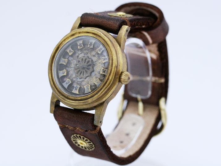 送料無料 Ks 蜉蝣(かげろう)手作り腕時計