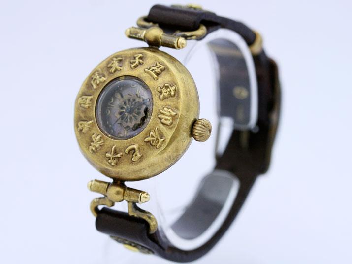 送料無料 Ks 如月(きさらぎ)手作り腕時計