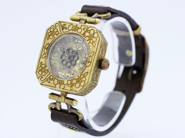 Ks 霞(かすみ)手作り腕時計