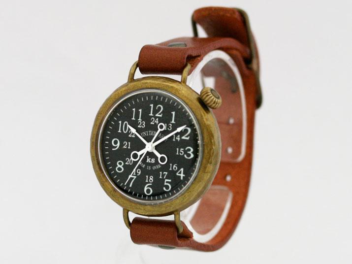 送料無料 Ks UNITED ARMY R/L手作り腕時計