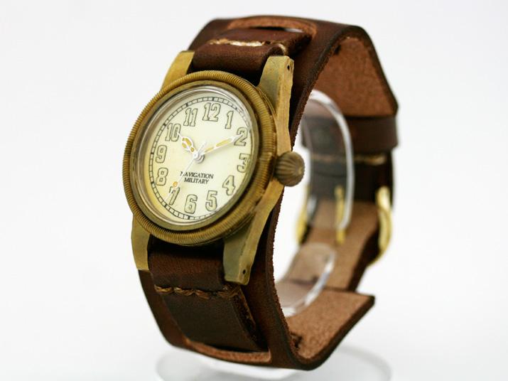 Ks SCREW MEN'S(バックストラップ付)手作り腕時計