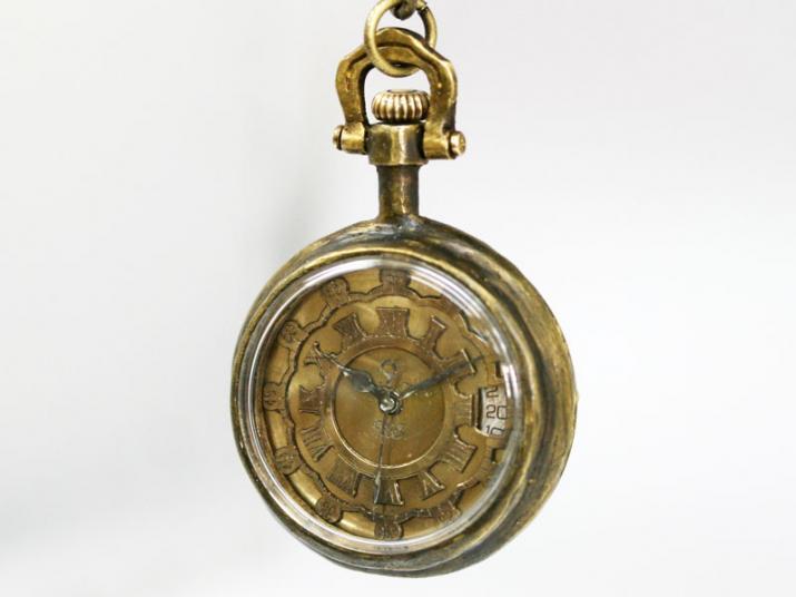 送料無料 Ks WENDY 懐中時計 手巻き 機械式手作り腕時計