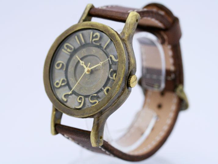 Ks BRASS RETORO JUNBO 手作り腕時計