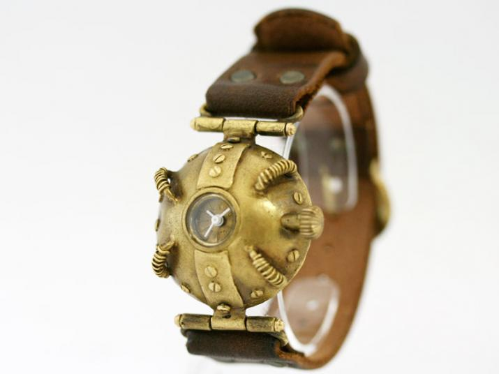 送料無料 Ks ROUND-TRIP手作り腕時計