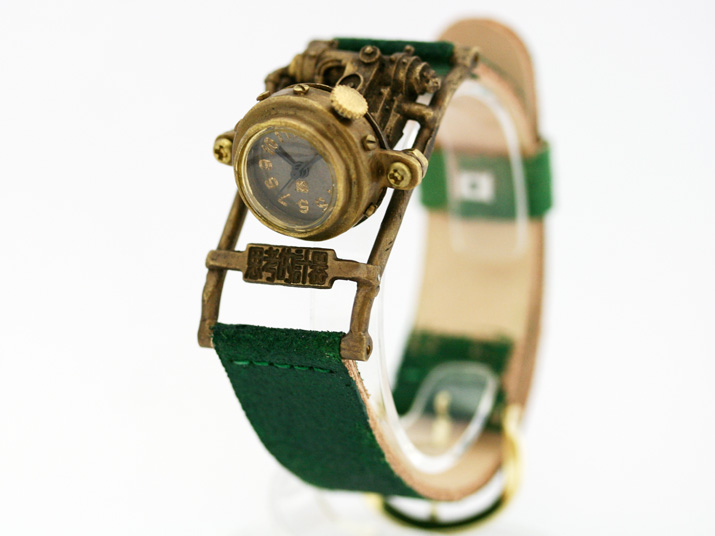 送料無料 Ks Mechtopia III 思考的計器手作り腕時計