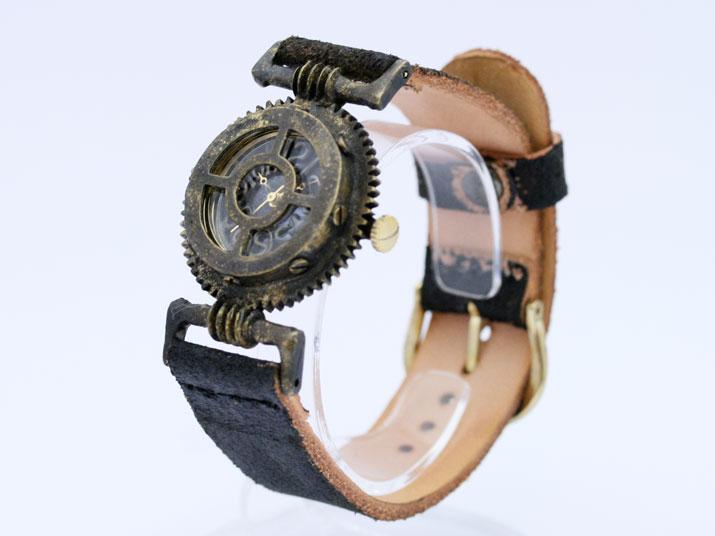 送料無料 Ks GEATORONICS III手作り腕時計