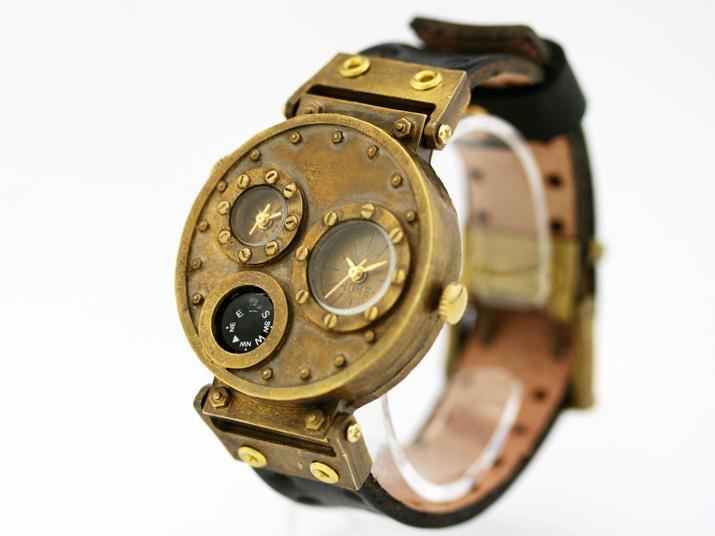 送料無料 Ks GOST HOUSE手作り腕時計