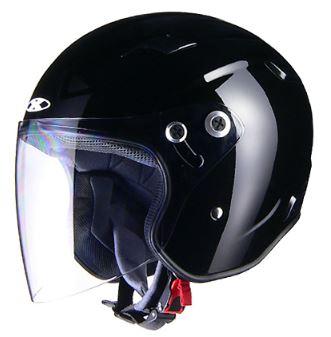 LEAD リード工業 X-AIR RAZZOIII ジェットヘルメット ブラック Sサイズ | ジェット ヘルメット ヘルメ バイク 原付 二輪 メンズ レディース シールド かっこいい インナー あごひも ワンタッチ 交換 黒 ブラック black 全排気量 バイク用品 リード RAZZO3 ポイント消化