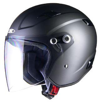 LEAD リード工業 X-AIR RAZZOIII ジェットヘルメット スモーキーシルバー Mサイズ | ジェット ヘルメット ヘルメ バイク 原付 二輪 メンズ レディース シールド かっこいい インナー あごひも ワンタッチ 交換 開閉 全排気量 バイク用品 リード RAZZO3 UV デザイン