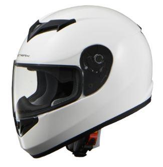 LEAD リード工業 STRAX SF-12 フルフェイスヘルメット ホワイト Lサイズ | フルフェイス ヘルメット ヘルメ かっこいい バイク おしゃれ 原付 二輪 シールド インナー あごひも ワンタッチ 交換 全排気量 白 リード バイク用品 シンプル 高機能 洗浄 通勤 ポイント消化