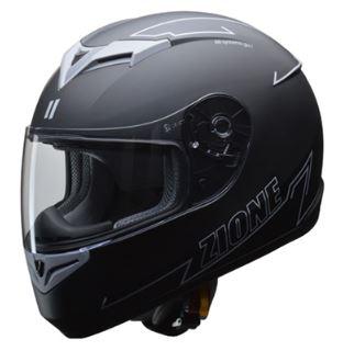 LEAD リード工業 ZIONE フルフェイスヘルメット グレー LLサイズ   フルフェイス ヘルメット ヘルメ かっこいい バイク おすすめ 原付 シールド インナー 人気 ワンタッチ 交換 全排気量 黒 ブラック リード バイク用品 内装 グレー おしゃれ 通勤 ポイント消化