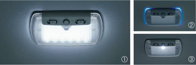 HONDA ホンダ LIFE ライフ ホンダ純正 LEDルーフ照明(交換タイプ1個入り)スポットライト、ブルーイルミネーション、室内照明
