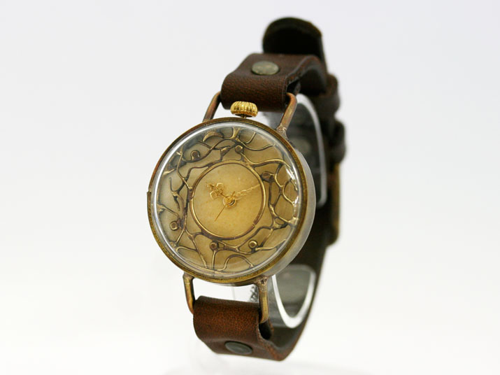 misa FOREST手作り時計